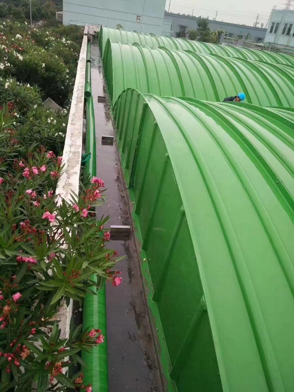 乌海废水处理玻璃钢拱形盖板结构稳定