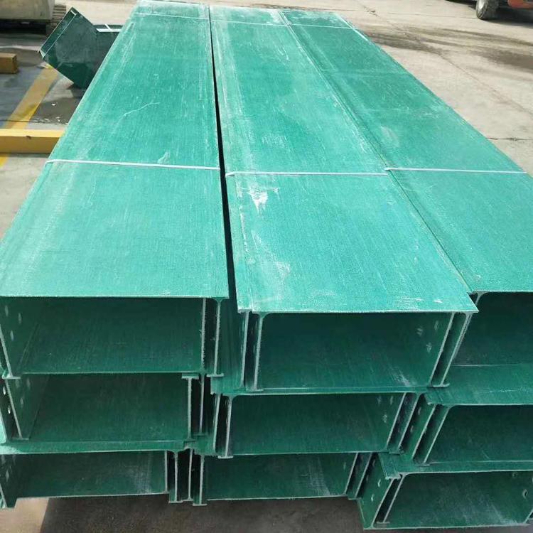 遵义FRP槽式电缆槽/玻璃钢电缆桥架优选厂家