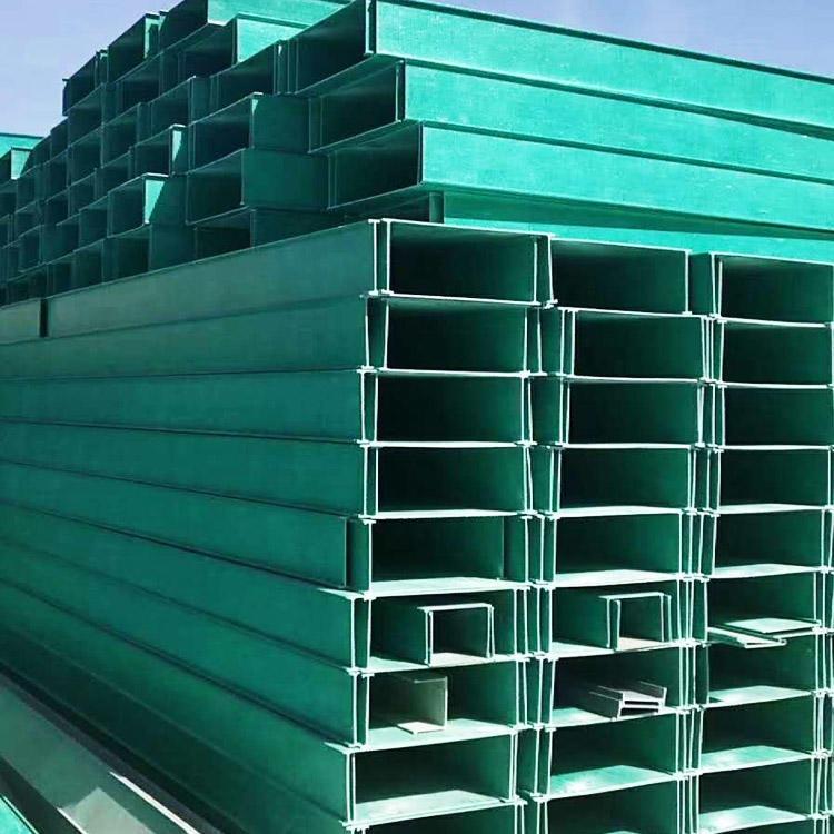 无锡玻璃钢电力电缆槽-玻璃钢桥架成本低