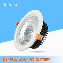 廠家直銷2.5寸~8寸壓鑄鋁商業照明家居照明LED筒燈天花燈外殼套件