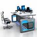 聯眾恒泰AOC-Z29控制臺操作臺人體工程學坐立兩種工作狀態外觀樣式功能可定制