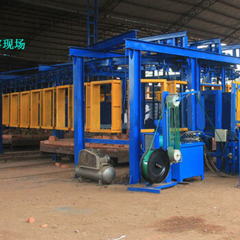 河南濮阳红砖自动打包机/砖块打包机打包效率高