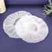 廠家生產透明peva防水浴帽創意洗澡帽女士新款蕾絲邊沐浴帽
