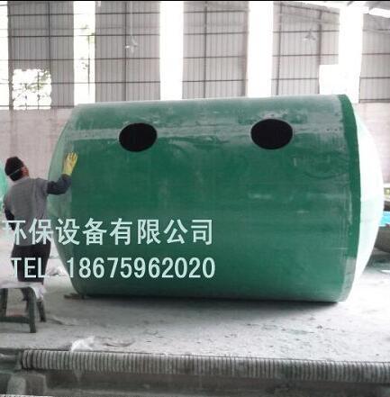 中山玻璃钢化粪池安装