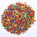 專業彩石彩砂生產廠家北京彩色鵝卵石供應透水石水洗石水磨石一噸多少錢