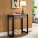 美式玄關桌現代簡約玄關臺供桌供臺玄關柜置物架墻邊條案靠墻窄桌