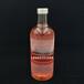 透明晶白料玻璃加厚伏特加玻璃瓶750ml圓柱型保健酒瓶玻璃瓶廠