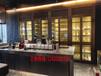 時尚不銹鋼鈦金恒溫酒柜定制恒溫恒濕雪茄柜定制恒溫紅酒柜