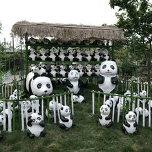 石家庄暖灯国际地产活动策划设备供应商玻璃钢熊,猫展出租