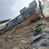 市政修高速公路碰到岩石进度慢用岩石劈裂机