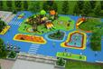 原生态木质滑梯游乐设备户外儿童木质拓展攀爬架室外儿童乐园原生态树屋