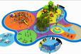 户外儿童亲子乐园原生态木质拓展木质滑梯儿童游乐场游乐设备室外亲子乐园
