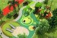 主题公园整体规划设计攀爬网旅游景区小区儿童游乐设备原生态树屋原生态木质拓展