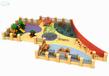 攀爬网荡桥户外木质拓展游乐设备幼儿园攀爬架钻网景区酒店度假村文旅游乐设备