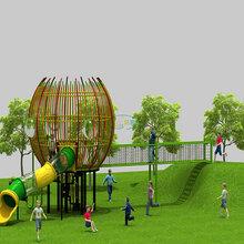 新款户外不锈钢滑梯室内外儿童爬网滑梯商场儿童乐园幼儿园农场游乐设备