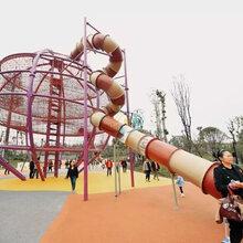 不锈钢滑梯游乐设备户外非标不锈钢滑梯度村亲子儿童乐园