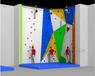 兒童攀巖墻早教感統體能訓練室內鏡面攀爬梯攀爬架木制墻面攀登架