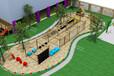 兒童游樂主題公園設施戶外木質拓展感統訓練木質攀爬蕩橋廠家