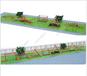 戶外幼兒園木質沙坑游戲原生態木質拓展訓練兒童木質組合滑梯