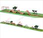 公園戶外木質拓展攀爬架兒童爬網幼兒園游樂設施秋千樂園廠家直銷