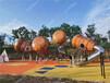景區公園兒童游樂設施無動力兒童樂園設備木質滑梯不銹鋼滑梯廠家