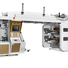 衛星式柔版印刷機無紡布塑料薄膜卷筒紙食品軟包裝印刷機圖片