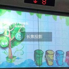 佰赢视视讯电梯广告投放机楼宇广告投影机电梯门广告投影仪