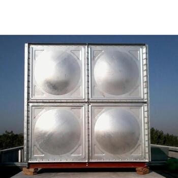 玻璃钢水箱组合式消防玻璃钢水箱原水处理玻璃钢水箱