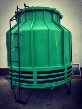 供應圓形逆流玻璃鋼冷卻塔逆流高溫100t冷卻塔工業冷水塔
