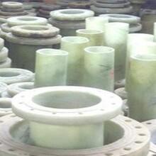 榆林生產進出水法蘭盤玻璃鋼整體法蘭廠家圖片
