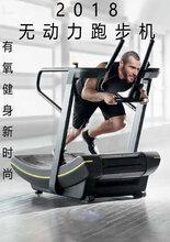 无电跑步机无动力跑步机商用低碳履带磁控可调节阻力健身房跑步机