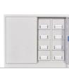 沃一证件护照柜精品防磁管理保密柜密码锁护照存放柜手册柜收纳柜