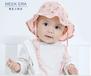 婴儿夏季宝宝帽子批发精密棉夏季柔软吸汗宝宝帽子夏季儿童帽