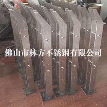 深圳优质装饰不锈钢扶手拉丝红古铜不锈钢栏杆阳台装饰扶手图片