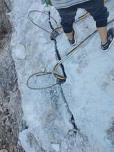 宁化基坑开挖静态开石机开凿方法采石成本图片
