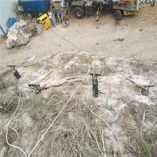 海口地基开挖赶工期石头太硬用什么设备免放炮设备图片