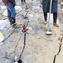 班玛石料开采机路基开挖岩石分石机凿岩机好不好用图片
