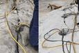安溪大型液压岩石劈裂机开采设备