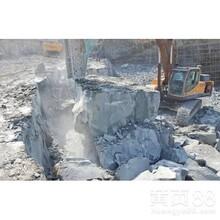 阜城开采岩石成本低的机器价格拆除方法图片