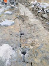 三穗挖地基有石头炮锤打不动专用机器设备现货供应图片