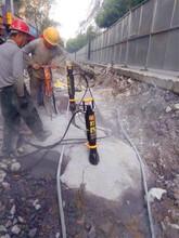 石场破碎锤打不动挖石头劈裂机甘德免费咨询图片