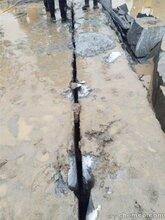 峨眉山代替爆破开采岩石的破石机器采石场不扰民