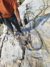 龍泉山上破大石頭小型手持劈裂機客戶評論圖片