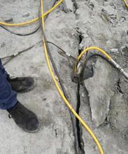 金陽石頭硬挖不動炮錘太慢用什么設備分裂棒價格實惠圖片