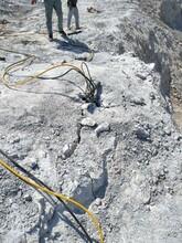 永春替代人工把硬石破除解体分裂器案例介绍图片