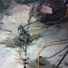 夹江竖井桩基用什么设备开挖快劈石机图片