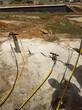 立山区钩机改装能破石头机械采石机能用多久图片