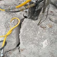 西吉有可以机代替破碎锤取代炸药破石头快图片