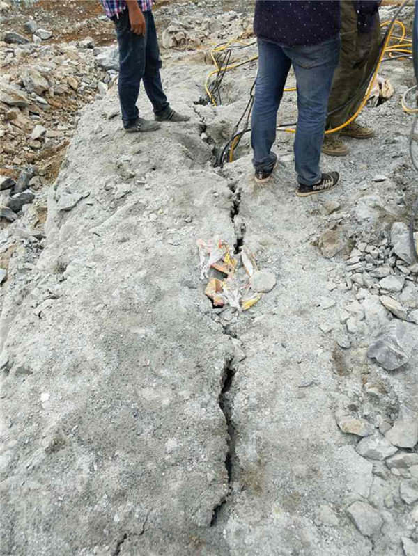 怀远石材厂矿山采石分石头劈裂机当地经销处
