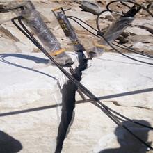 郏县竖井桩基用什么设备开挖快劈石机图片